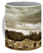 Clouds Over Cemetery Coffee Mug