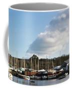 Clouds Over Cockwells Boatyard Mylor Bridge Coffee Mug