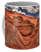 Clouds Over Coyote Buttes North Coffee Mug