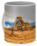 Clouds Over Delicate Arch Coffee Mug