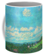 Clouds Over Fairlawn Coffee Mug