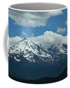 Clouds Over Mt Shasta Coffee Mug