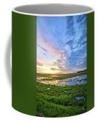 Clouds Over The Marsh 4 Coffee Mug