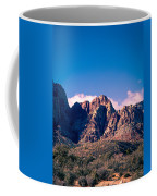 Clouds Over The Mountain Coffee Mug
