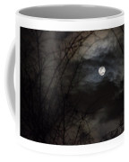Clouds Passing The Snow Moon Coffee Mug