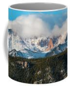 Clouds Receding On Pikes Peak Coffee Mug
