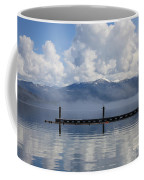 Clouds Reflecting Off Priest Lake Coffee Mug