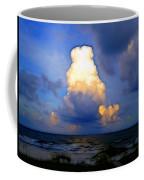Cloudy Beach Coffee Mug