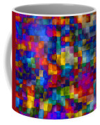 Cloudy Cubes Coffee Mug