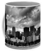 Cloudy Day Chicago - 2 Coffee Mug