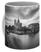 Cloudy Day On The Seine Coffee Mug