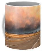 Cloudy Highway Coffee Mug