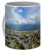 Cloudy Mount Washington Road Coffee Mug