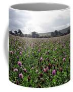 Clover Field Wiltshire England Coffee Mug