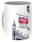 Clover Grill Coke Sign Coffee Mug