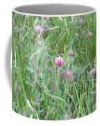 Clover In The Grass Coffee Mug