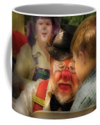 Clown - Face Painting Coffee Mug by Mike Savad