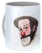 Clown Emmett Kelly Coffee Mug