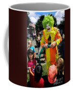 Clown Entertaining Kids Coffee Mug
