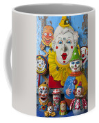 Clown Toys Coffee Mug by Garry Gay