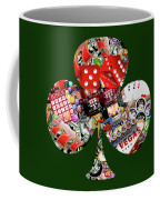 Club Playing Card Shape  Coffee Mug