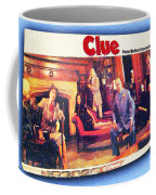 Clue Board Game Painting Coffee Mug