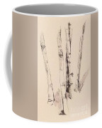 Clump Of Birch In Winter Coffee Mug