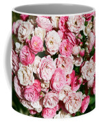 Cluster Of Roses  Coffee Mug