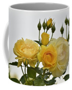 Cluster Of Yellow Roses Coffee Mug