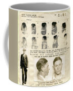 Clyde Barrow Mugshot Coffee Mug