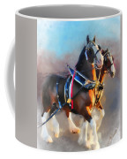 Clydesdales Coffee Mug