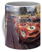 Cma 051 1962 Le Mans Ferrari 330 Driver Phil Hill Roy Rob Coffee Mug