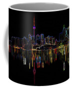 Cn Tower Outline Coffee Mug