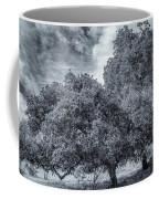 Coast Live Oak Monochrome Coffee Mug