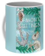 Coastal Christmas Card Coffee Mug