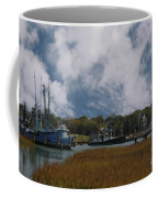 Coastal Island Town Coffee Mug