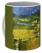 Coastal Marsh View Abstract Coffee Mug