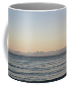 Coastal Mountains At Sunrise Coffee Mug