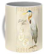 Coastal Waterways - Great Blue Heron Coffee Mug
