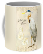 Coastal Waterways - Great Blue Heron Coffee Mug