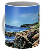 Coastline And Otter Cliff 1 Coffee Mug