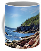 Coastline And Otter Cliff 3 Coffee Mug