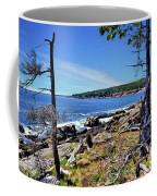 Coastline At Otter Point 1 Coffee Mug