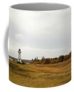 Coastline Of Prince Edward Island, Canada With Lighhouse Coffee Mug