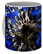 Cobalt Blue Wormhole Coffee Mug