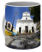 Cobblestone And Cathedral  Coffee Mug