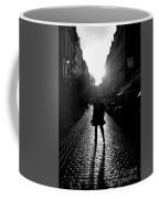 Cobblestone Path Home Paris Bw Coffee Mug
