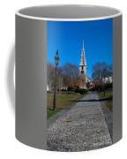 Cobblestone To Trinity Church Newport Rhode Island Coffee Mug