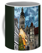 Coburg Germany Castle Painting Art Print Coffee Mug