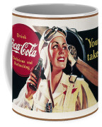 Coca-cola Ad, 1941 Coffee Mug by Granger